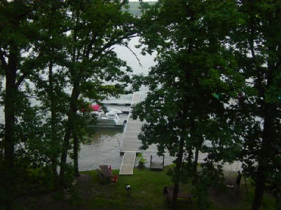 Will O' the Wisp: boat dock