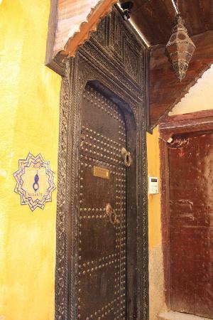 Door to Riad Le Calife
