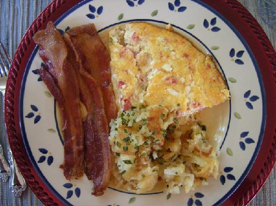 Joanne's Bed & Breakfast LLC: Joanne's great breakfast