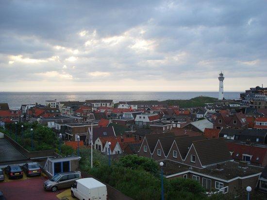 Hotel Zuiderduin: Kamer met uizicht op zee en centrum