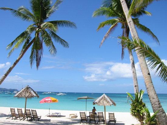 Boracay, Filipinas: 白いビーチ1