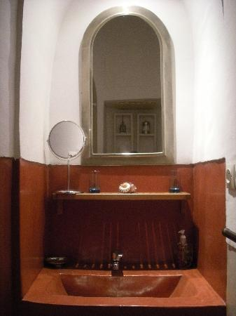 Riad Safa: Notre salle de bain