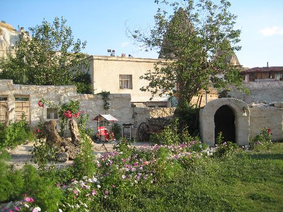 Dervish Cave House: the garden.