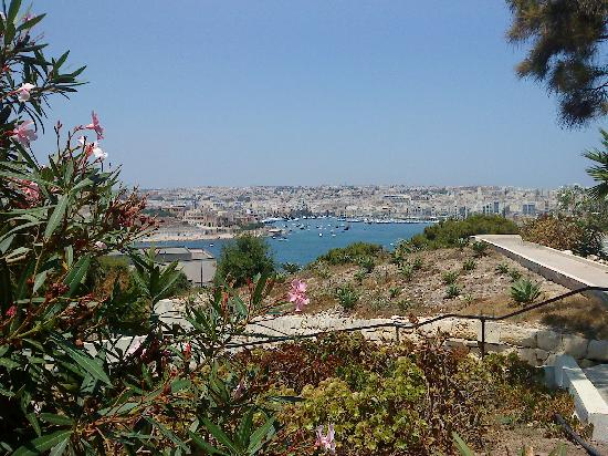 The Phoenicia Malta: The view from the poll area