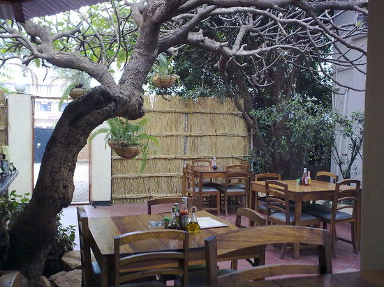 Kiboko Town Hotel Restaurant: Breakfast area
