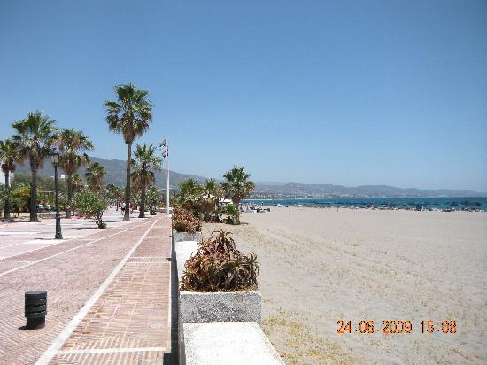 Vasari Vacation Resort: beach in Puerto Banus
