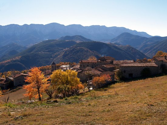 Catalonia, Spain: Travesserés, between Martinet and Lles de Cerdanya
