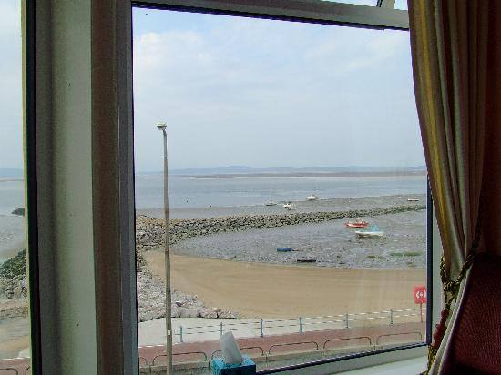 The Wimslow Guest House: view from room window