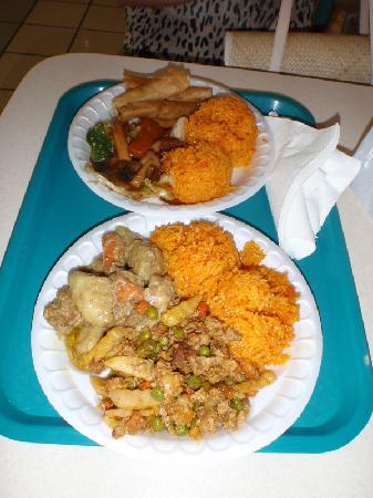 Micronesia Mall : フードコートのチャモロ料理
