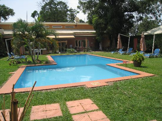Urban by CityBlue Kampala, Uganda: the garden and swimming pool