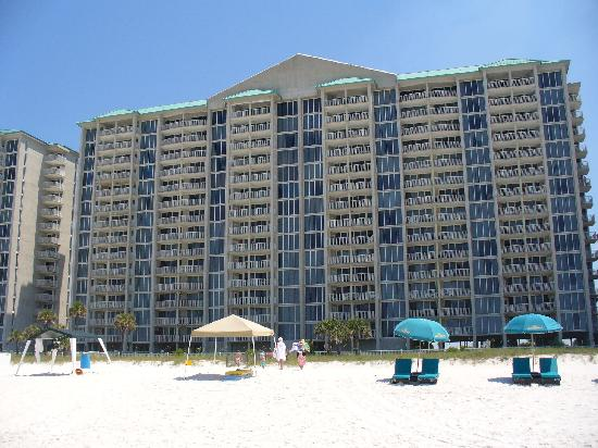 Long Beach Resort Tower 1 From The