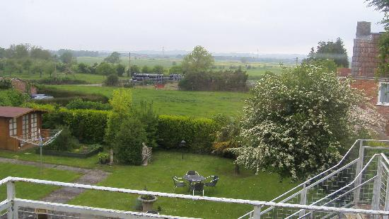 Meare Manor: View from the Patio Doors
