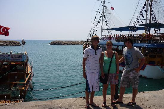 SENTIDO Perissia: Harbour in Side