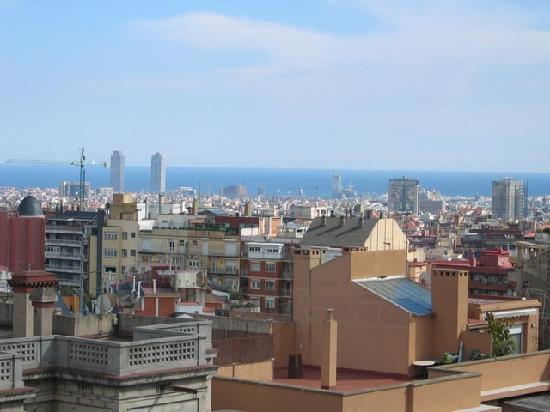 Casa Con Estilo Balmes: Terrace's view