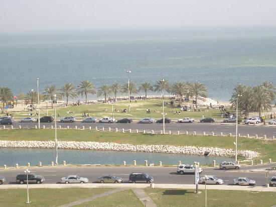 Le Meridien Al Khobar: View from my room