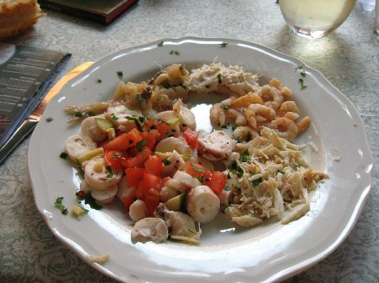 Hotel Casa Boccassini: local seafood