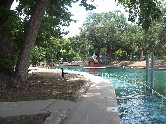 River Fed Pool In Landa Park Picture Of New Braunfels