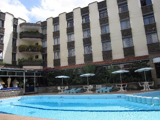 Silver Springs Hotel: Vue depuis la cour intérieure