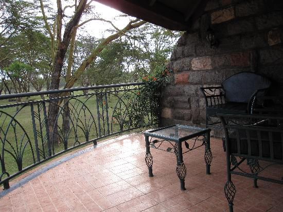 terrasse en fer forcé - Picture of Lake Naivasha Sopa Resort ...