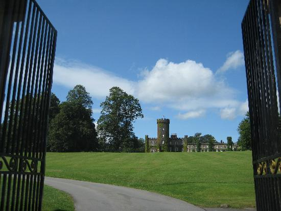 Swinton Park: The entrance has the wow factor