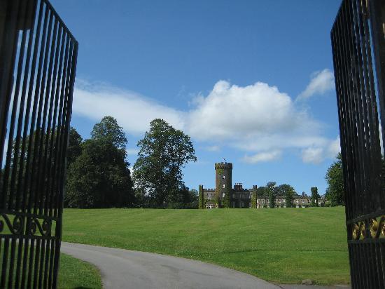 Swinton Park: The entrance has the wow factor