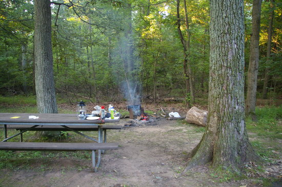 Greenbelt, MD: Camp Site In Use