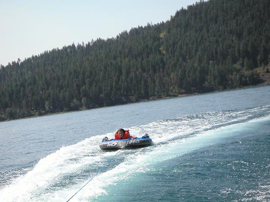 Bay Point on the Lake: Tubin' on the lake