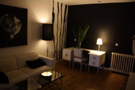 La Casa BXL: Living room