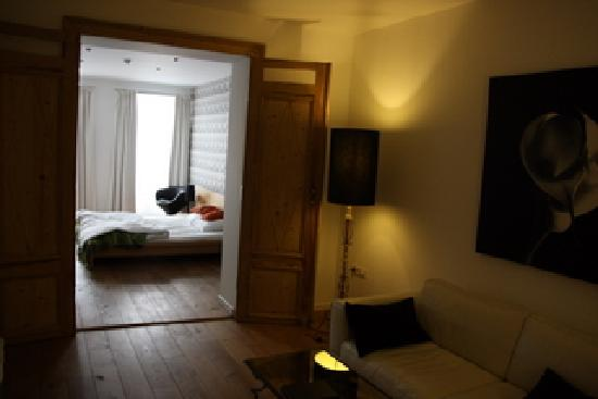 La Casa BXL: bed