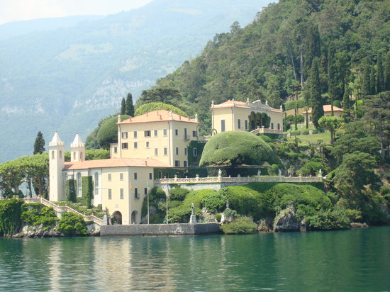 View from Lake Como