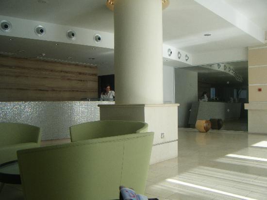 Napa Plaza Hotel: Reception