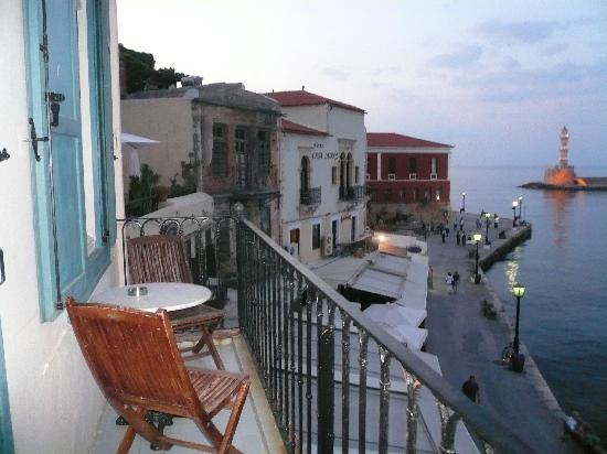 Amphora Hotel: View from Balcony