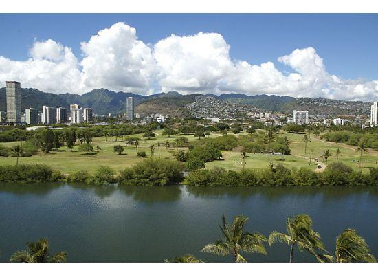 Fairway Villa: View from lanai