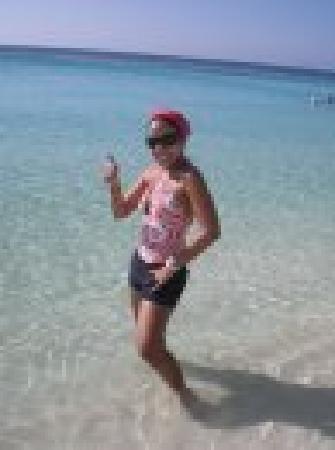 Mayan Princess Beach & Dive Resort: Yo en la playa