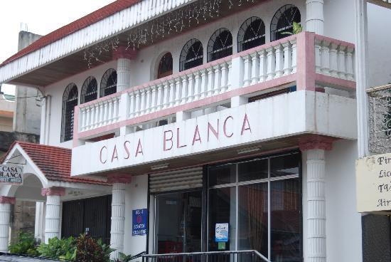 Casa Blanca Guest House : Nice central location