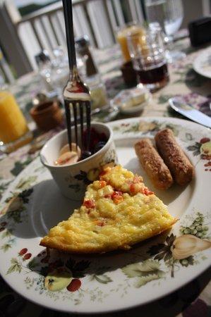 Brierley Hill Bed and Breakfast: Breakfast