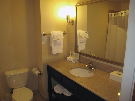 Holiday Inn Express Hotel & Suites Oroville Southwest: Bathroom