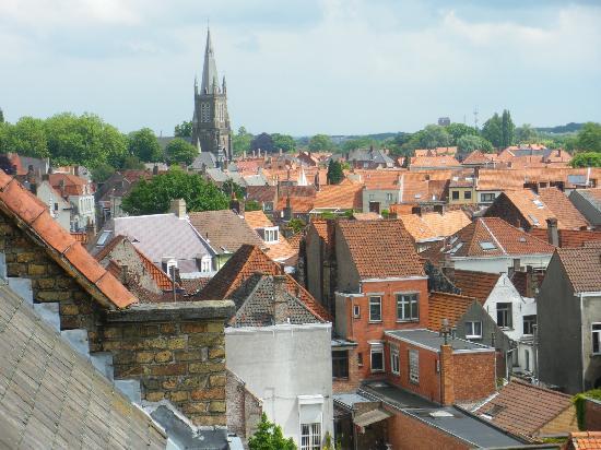 Bed & Breakfast Speelmansrei: View of Brugge