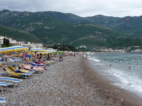 Hotel Montenegro Beach Resort : Beach view