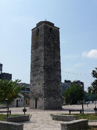 Hotel Montenegro Beach Resort: Clock Tower in Podgorica