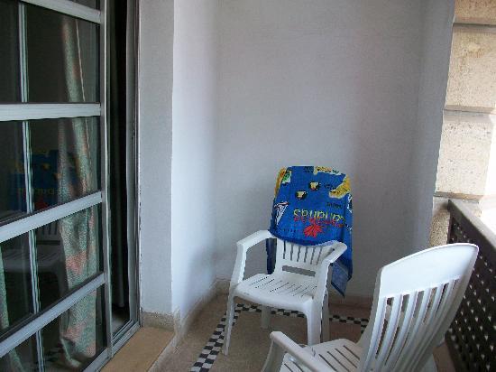 Agador Tamlelt: balcon chambre
