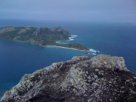 Naqalia Lodge: Mountain-top view