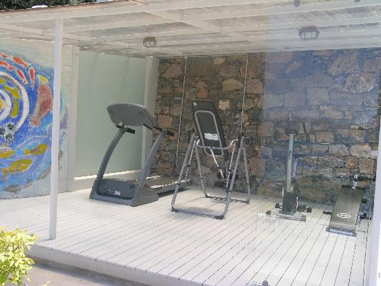 Adrakos Apartments: Gym