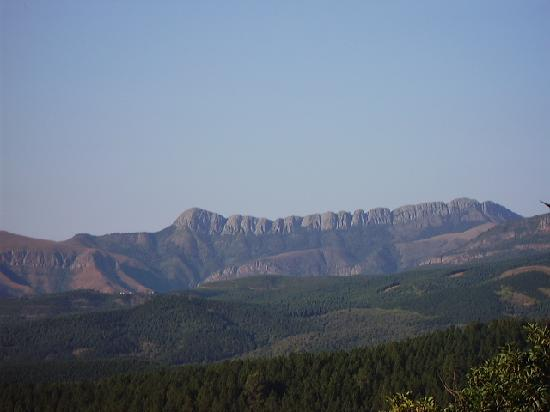Tzaneen, África do Sul: Mountain view seen from patio