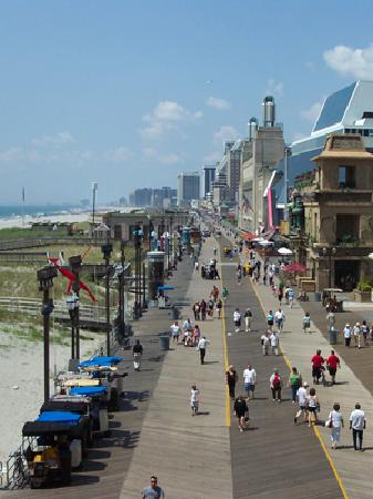 Costa de New Jersey, Nueva Jersey: Atlantic City Boardwalk