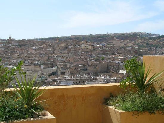 Riad Le Calife : La vue depuis la terrasse, seulement une partie