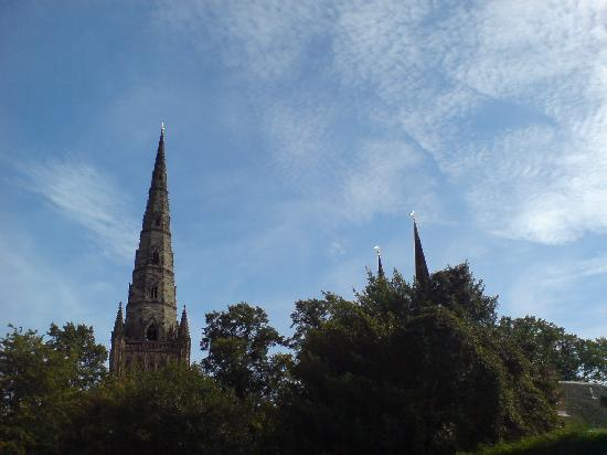 Lichfield Cathedral: Beauty soaring to the sky