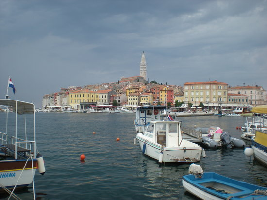 Rovinj in July