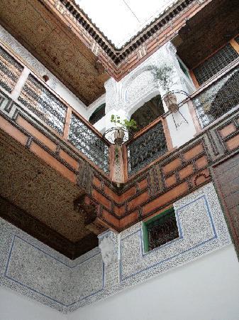 Riad Laayoun : Patio del Riad