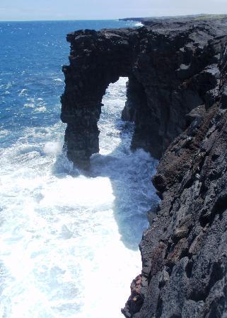 Hawaii Paradise Suite: Lava Rock Sea Arch--Volcano Nat'l Park